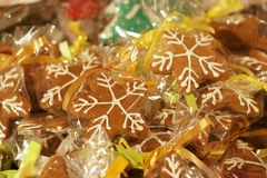 Christmas sweets. Collection of a christmas homemade baked cakes Stock Photos