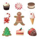 Christmas sweets Stock Photography