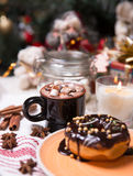 The christmas sweets Stock Photos