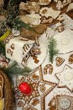 Christmas sweets gingerbread Royalty Free Stock Photos