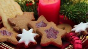 Christmas Sweets stock footage