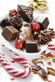 Christmas sweets selection Stock Image