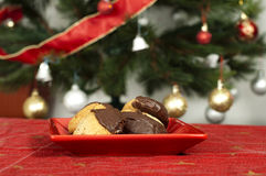 Christmas sweets on the table Royalty Free Stock Image