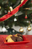 Christmas sweets on the table Royalty Free Stock Photos