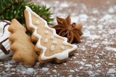Christmas sweets Stock Photos