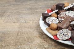 Christmas sweets Stock Photography