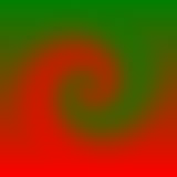 Christmas Swirl. Red and green swirled Stock Images