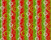 Christmas Swirls Background Stock Photo