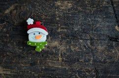 Christmas symbol on wooden background Royalty Free Stock Image