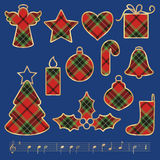 Christmas symbols Royalty Free Stock Images
