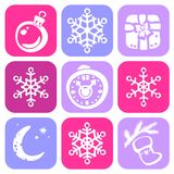 Christmas Symbols Royalty Free Stock Photo