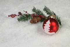 Christmas Symbols arrangement Royalty Free Stock Photo