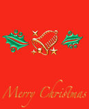 Christmas Symbols card Royalty Free Stock Photos