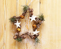 Christmas symbols and decorations Royalty Free Stock Photography