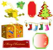 Christmas symbols Royalty Free Stock Photography