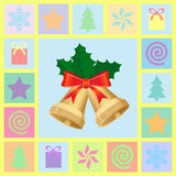 Christmas symbols set Stock Photo