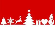 Christmas symbols Stock Image