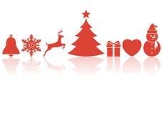 Christmas symbols Royalty Free Stock Photo