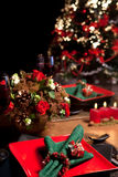 Christmas table 10 Royalty Free Stock Photo