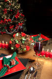 Christmas table 3 Stock Photo