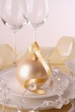 Christmas table Royalty Free Stock Photos