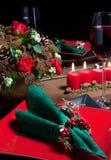 Christmas table 5 stock image