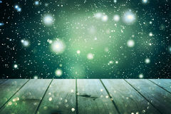 Christmas table background.New Year Royalty Free Stock Photos