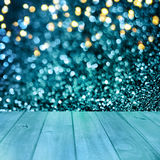 Christmas table background.Wooden background royalty free stock photography