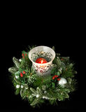 Christmas Table Centerpiece Royalty Free Stock Photos