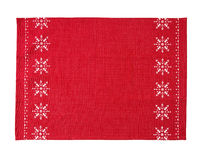 Christmas table cloth stock images