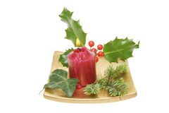 Christmas table decoration Royalty Free Stock Photos
