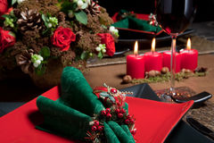 Christmas table 6 Royalty Free Stock Images