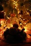 A Christmas table Stock Photography