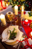 Christmas table is ready Royalty Free Stock Photo
