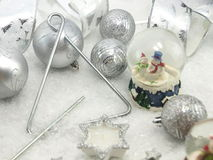 Christmas table set Stock Images