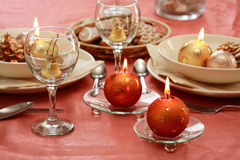 Free Christmas Table Setting Stock Images - 2897204
