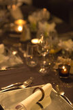 Christmas table setting with retro style Royalty Free Stock Images