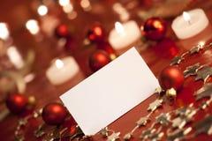 christmas tag Στοκ Εικόνες