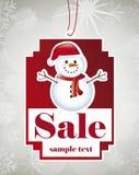 Christmas tag Royalty Free Stock Photos