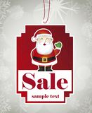 Christmas tag Stock Photography