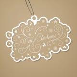 Christmas Tag Stock Image