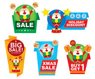 Christmas Tag Price Design Royalty Free Stock Images