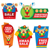 Christmas Tag Price Design Royalty Free Stock Image