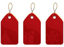 Christmas Tag Set Royalty Free Stock Image