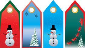 Christmas Tag Set Royalty Free Stock Photos