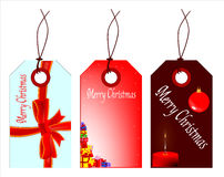 Christmas Tag Set Stock Image
