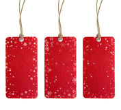 Christmas Tag Set One Stock Photo
