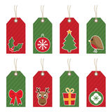 Christmas tags Royalty Free Stock Photos