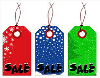 Christmas Tags Royalty Free Stock Photo