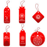 Christmas Tags Set Royalty Free Stock Photography